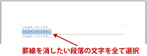 word罫線解説画像6
