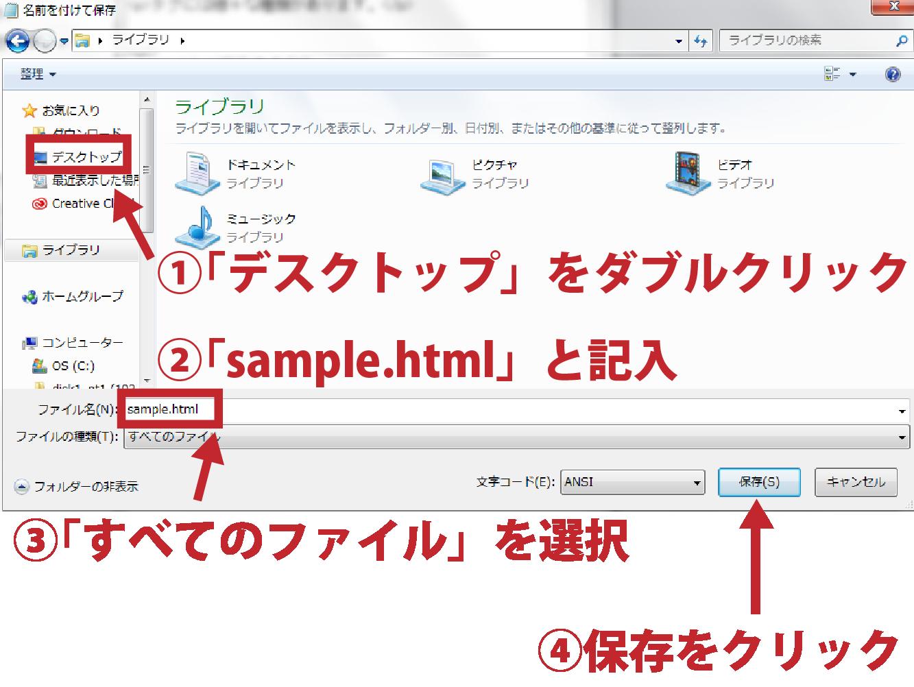 HTMLとは7