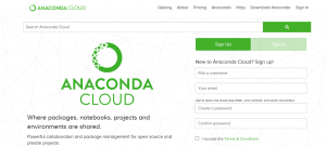 anaconda cloud